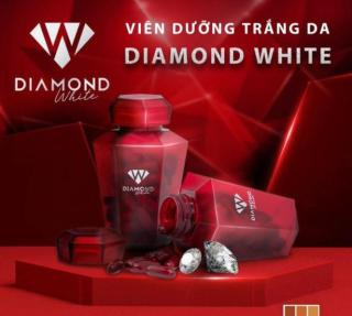 (không quà) Viên uống trắng da Ngọc Trinh Beauty Diamond White Plus 5.0 tem cào mã QR thumbnail