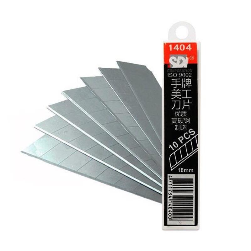 Mua [GIÁ SỈ 4.6k/Hộp] Sỉ 10 Hộp Lưỡi dao  dọc giấy Loại To 18mm & bé 9mm (1 hộp 10 cái )