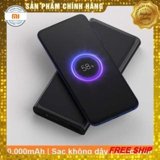 DỌN KHO SALE 50% Pin sạc dự phòng không dây Xiaomi 10000mAh - Sạc nhanh dự phòng không dây Xiaomi - Sạc dự phòng Xiaomi hỗ trợ sạc nhanh cho nhiều thiết bị - Hàng chính hãng bảo hành 12 tháng thumbnail