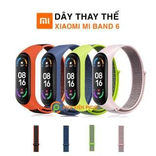 Dây đeo thay thế Xiaomi Mi Band 6 vải Nylon Sport Loop cao cấp siêu bền - Dây Nylon Sport Loop Miband 6 thumbnail