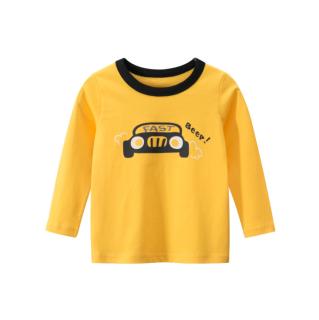 [ VIDEO] H121 Áo thun dài tay bé trai 27KIDS chất liệu 100% cotton in hình FAST BEEP (YEL) cho bé từ 10-33kg (2 tuổi -10 tuổi ) an toàn mềm mịn thích hợp cho bé đi học đi chơi thumbnail
