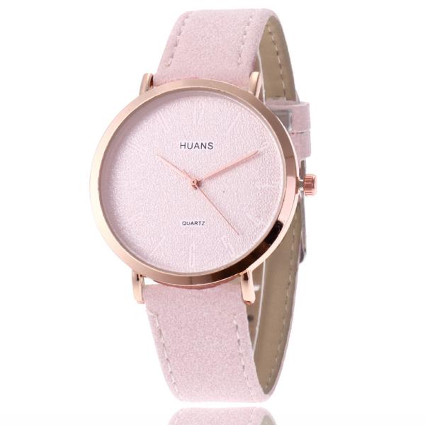 Đồng hồ nữ Huans DH500 đồng hồ dây da bán chạy