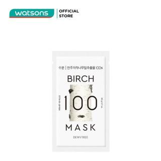 Mặt Nạ Dewytree Brich 100 Mask Lá Bu-Lô Trắng Cấp Ẩm Chuyên Sâu 20g thumbnail