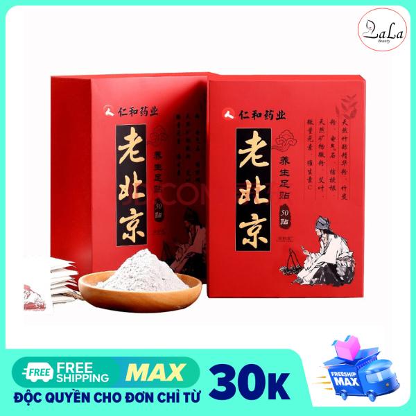 [Hộp 50 Miếng] Miếng Dán Ngải Cứu Thải Độc Chân Ông Lão Bắc Kinh, Giải Độc Cơ Thể, Giảm Đau Xương Khớp Nâng Cao Tuần Hoàn Máu giá rẻ