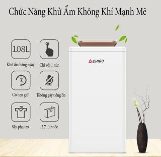 Máy hút ẩm không khí CHIGO - Sản phẩm máy lọc không khí hiện đại, cao cấp giúp các bạn có không khi trong lành tươi mát - Bảo hành 12 tháng thumbnail