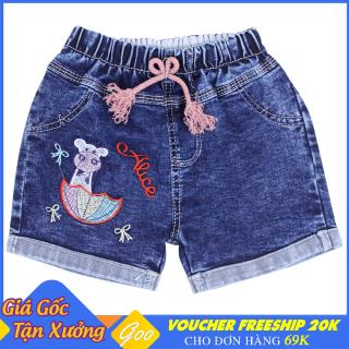 Quần short Jean bé gái thắt nơ - Chất vải mềm mại [ ẢNH THẬT 100% DO SHOP CHỤP ] thumbnail