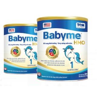 Sữa bột Babyme HMO 1-2-3-GOLD phù hợp cho bé biếng ăn từ 0 -10 tuổi thumbnail