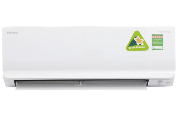 Máy lạnh Daikin Inverter 1.5 HP FTKM35SVMV - Công suất làm lạnh 11.900 BTU, Công nghệ tiết kiệm điện Econo, Mắt thần thông minh 2 khu vực