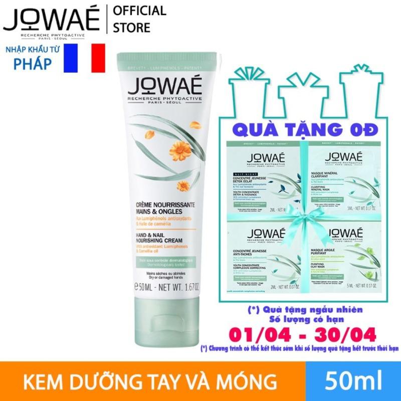 Kem dưỡng tay và móng JOWAE mỹ phẩm thiên nhiên nhập khẩu từ Pháp  HAND AND NAIL NOURISHING CREAM