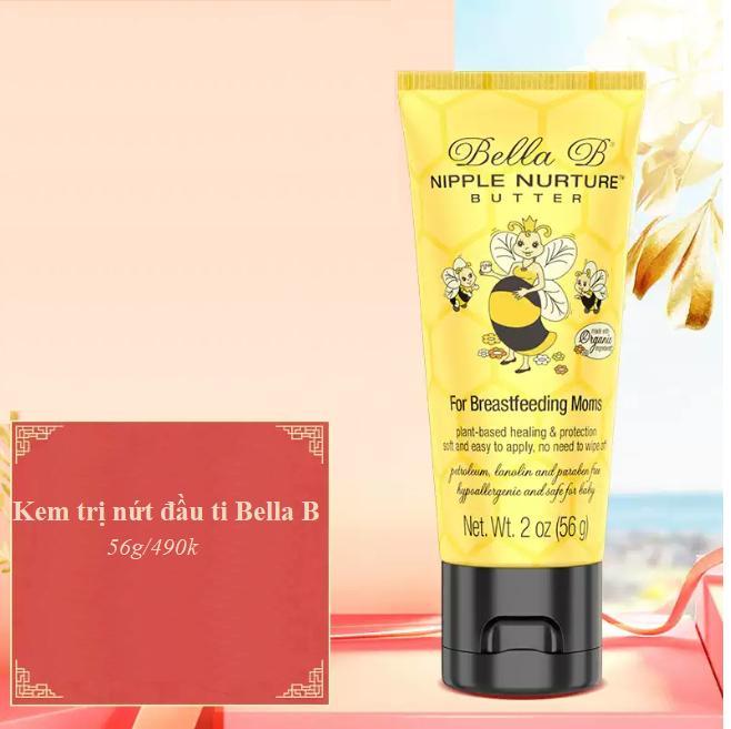 Bơ Trị Nứt Đầu Ti (Bella B Nipple Nurture Butter)
