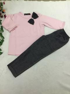 SALE KHỦNG CHỈ 35K Bộ bé gái tay dài thun cotton mềm mại nhiều mẫu , nhiều màu ,giao màu ngẫu nhiên