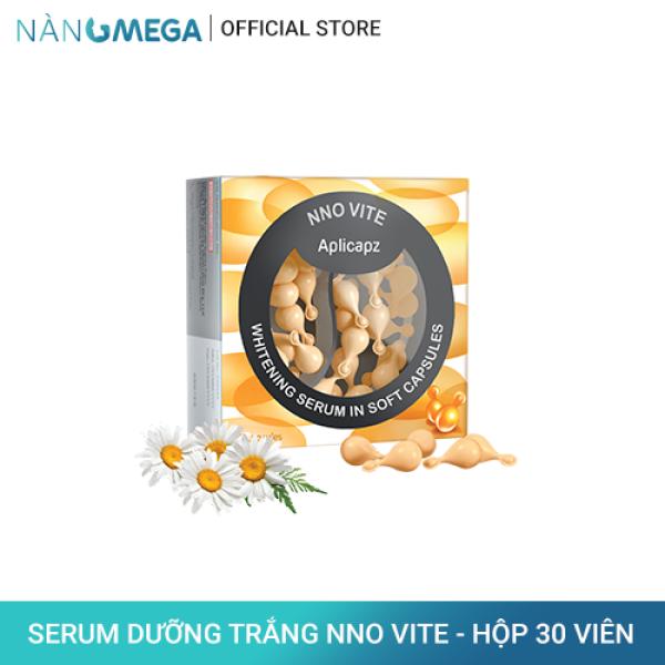 Viên serum vitamin C NNO VITE hộp 30 viên dưỡng trắng, ngăn sạm nám, cải thiện lão hóa da
