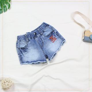207 - Quần Jeans short bé gái ( quần áo trẻ em xuất khẩu ) thumbnail