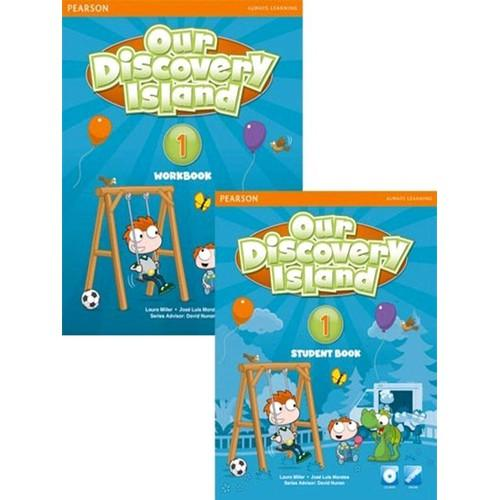 Mua Our Discovery Island 1 (Student Book + Work book + CD)