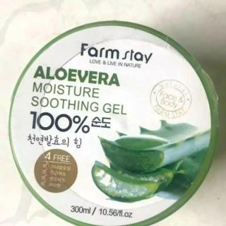 Combo 2 hộp Gel Nha đam Farmstay 100% Aloe Vera Moisture Soothing Gel thumbnail