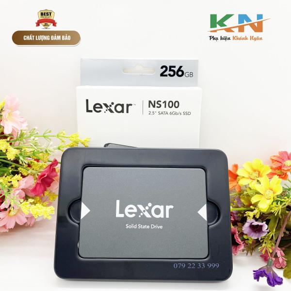 Bảng giá Ổ cứng SSD Lexar 256gb, sẽ giúp tiết kiệm thời gian cho bạn, nó sẽ giúp cho máy tính khởi động, chuyển dữ liệu và tải ứng dụng một cách dễ dàng Phong Vũ