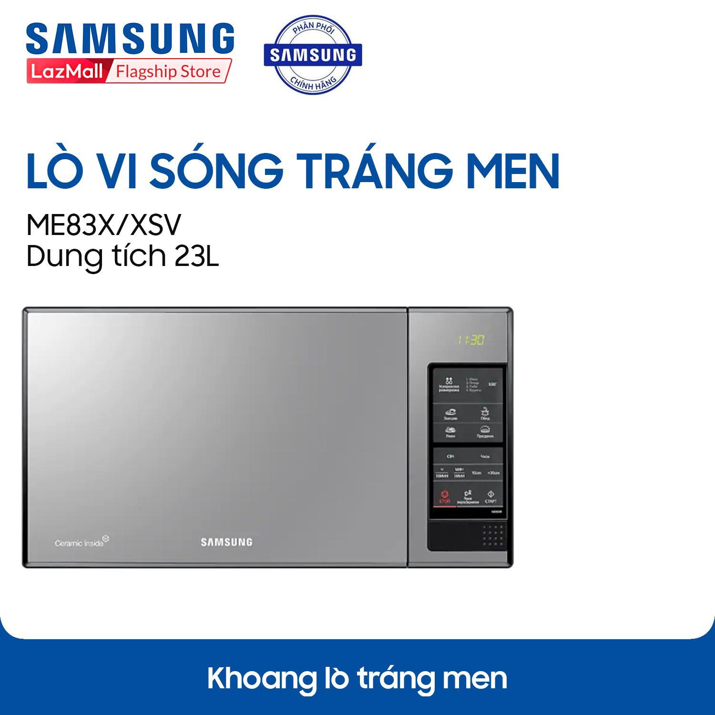 Lò vi sóng tráng men Samsung ME83X/XSV 23 lít
