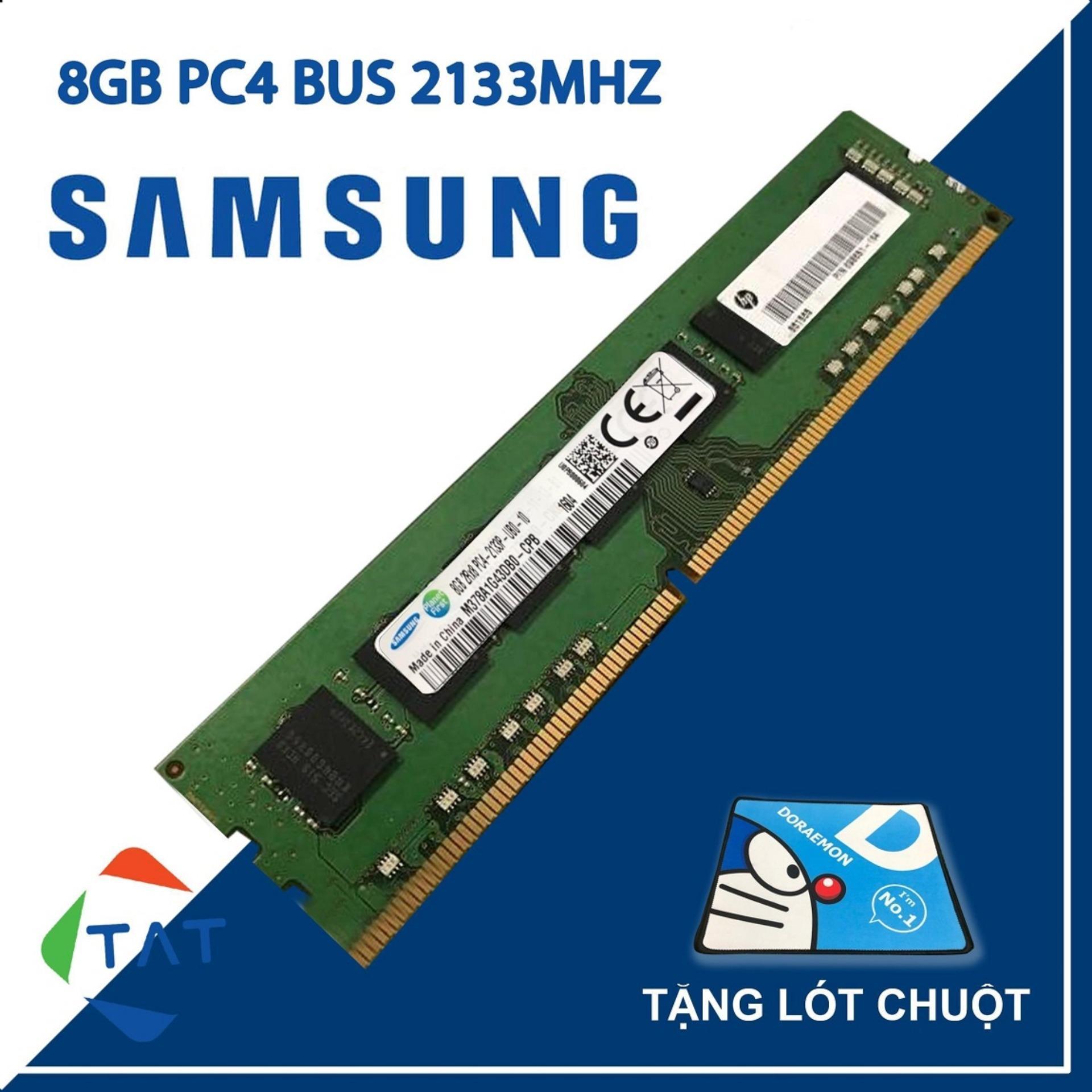Giá RAM Samsung Hynix Micron Kingston DDR4 8GB Bus 2133MHz Dùng Cho PC Desktop  Bảo Hành 36 Tháng 1 Đổi 1