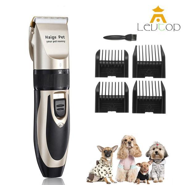 Levtop Tông Đơ Cắt Tỉa Lông Chó Mèo Tỉa Lông Chó Mèo Chống Nước  4 In 1 Công Suất Mạnh Mẽ Không Gây Tiếng Ồn Hàng Nhập Khẩu Cat Dog Hair Trimmer