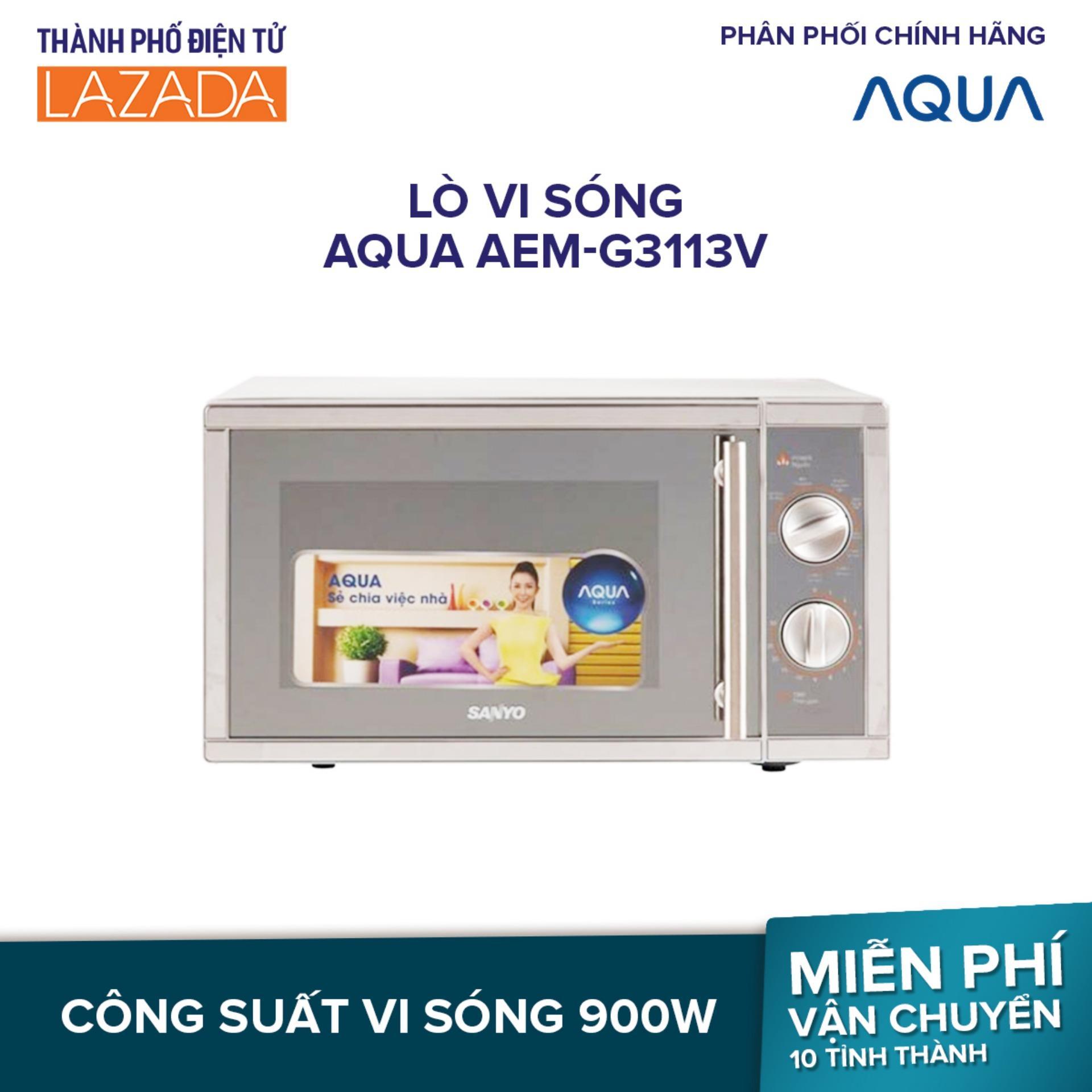 Lò vi sóng AQUA AEM-G3113V - Hàng phân phối chính hãng
