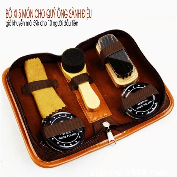 Bộ xi 5 món chất lượng tốt , sản phẩm có bao đựng đẹp,dành cho quý ông sành điệu.mr-shop. giá rẻ