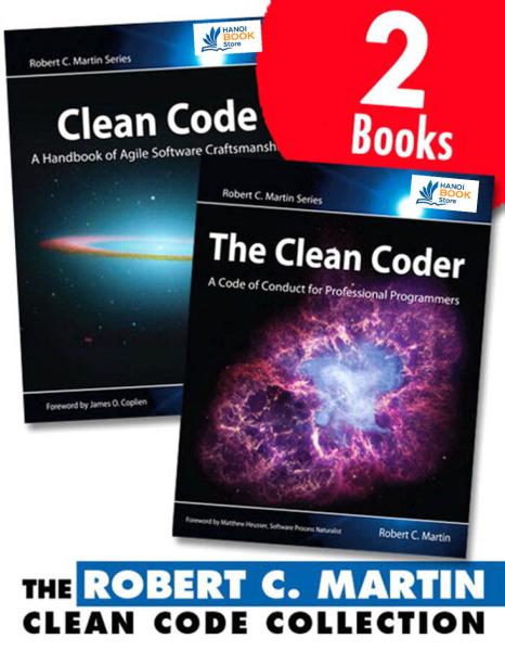 Robert C. Martin Clean Code Collection (Collection) - Hanoi bookstore
