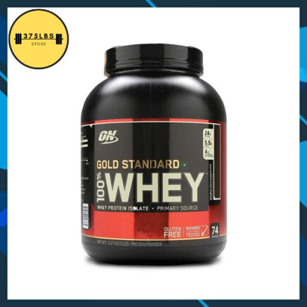 [CHÍNH HÃNG] Sữa tăng cơ Whey ON Gold Stardard 100%  5lbs (2.2Kg)- Hỗ trợ tăng cơ, phục hồi sau tâp luyện