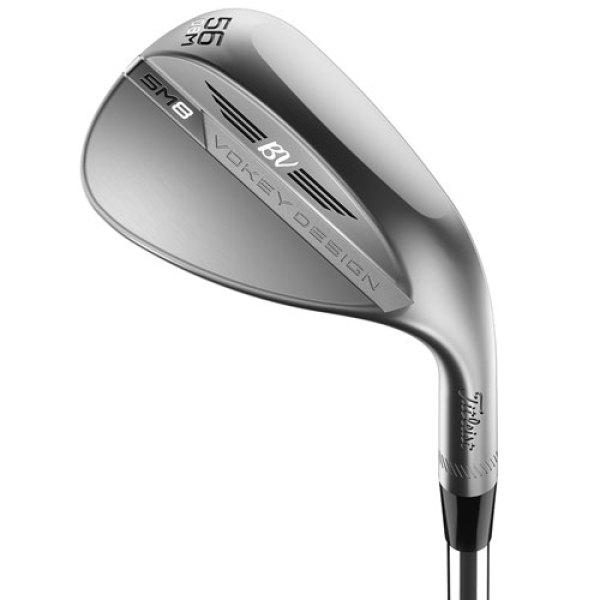 Gậy Golf Wedge Nam Titleist SM8 màu bạc ( Tour Chrome ) - Loft 52 - 54 - 56 - 58