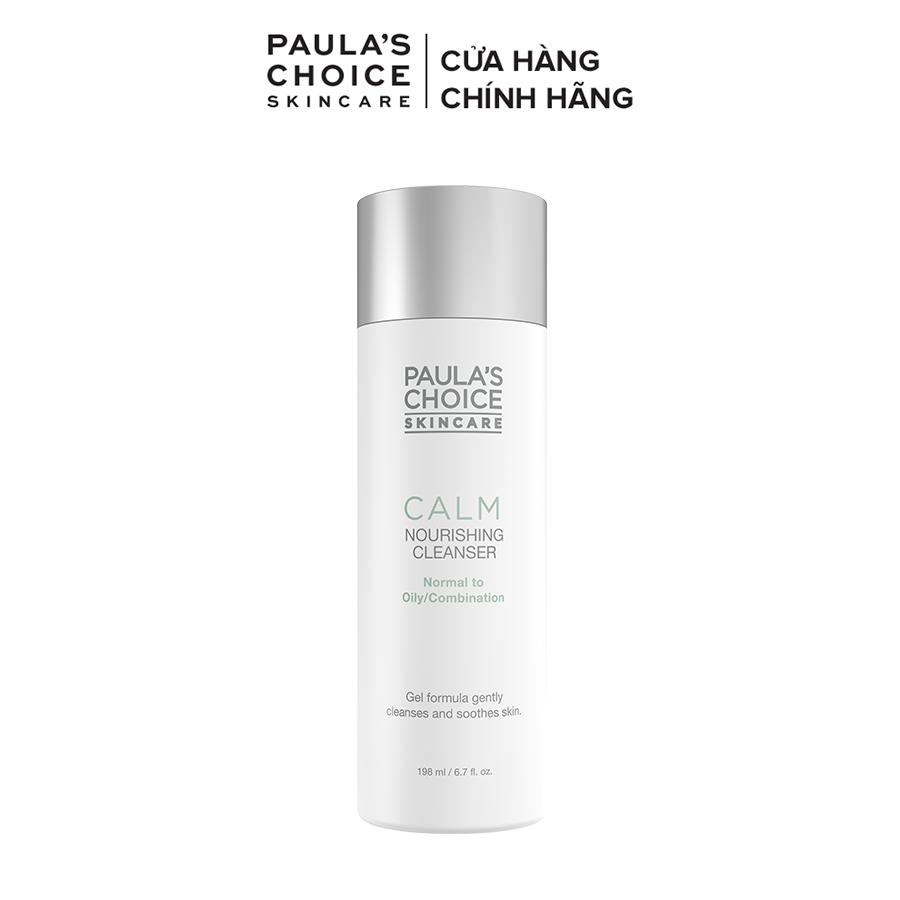 Sữa rửa mặt dịu nhẹ dành cho da dầu nhạy cảm Paula's Choice Calm Redness Relief Cleanser Oily Skin