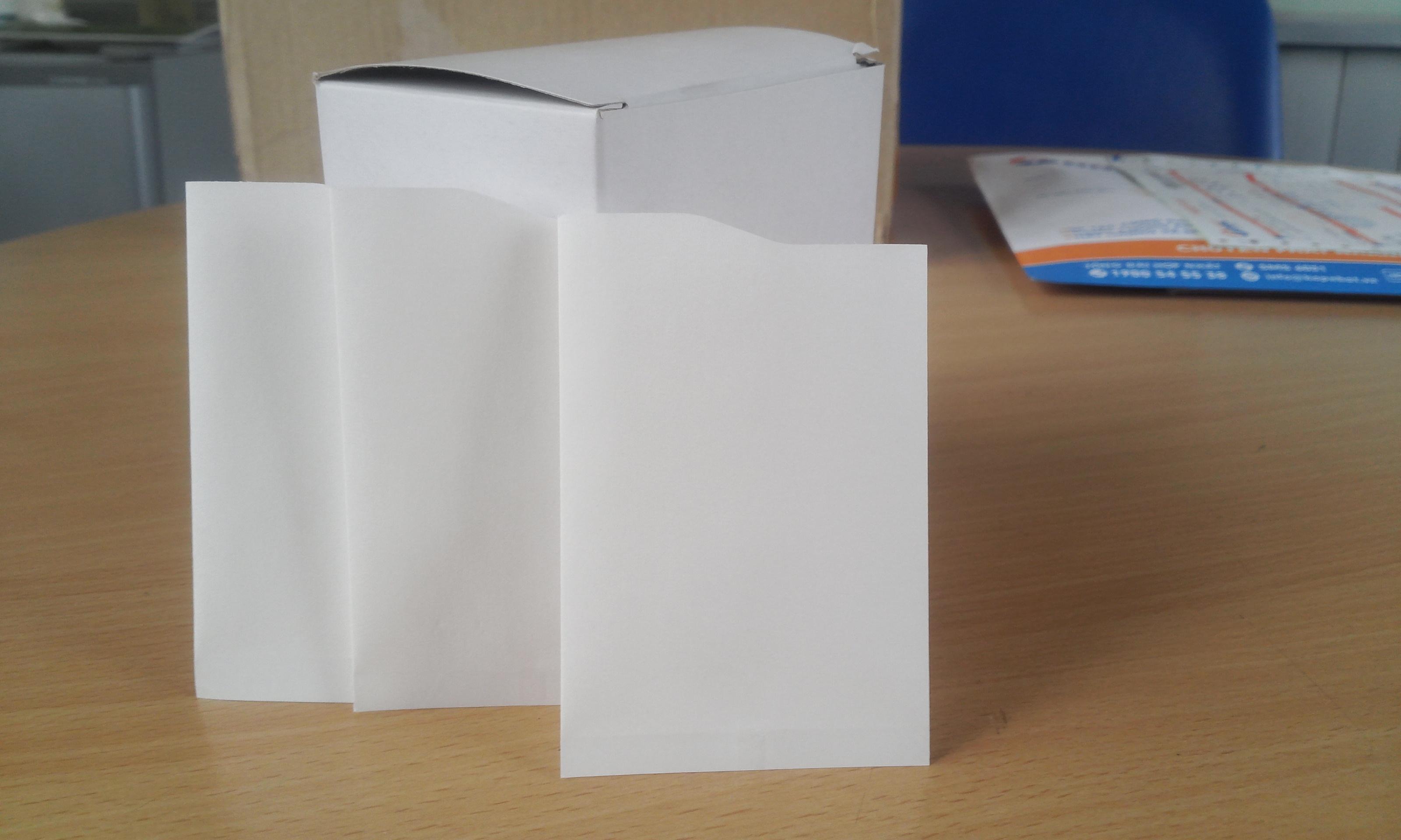 Túi uống nước bằng giấy (dùng 1 lần) - loại 4.000 túi / thùng carton