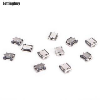 Jettingbuy Lotui 10 Cái Micro USB 5PIN B Loại Cổng Kết Nối Cái Cho Kết Nối 5 Pin Ổ Cắm Sạc Bán Chạy thumbnail