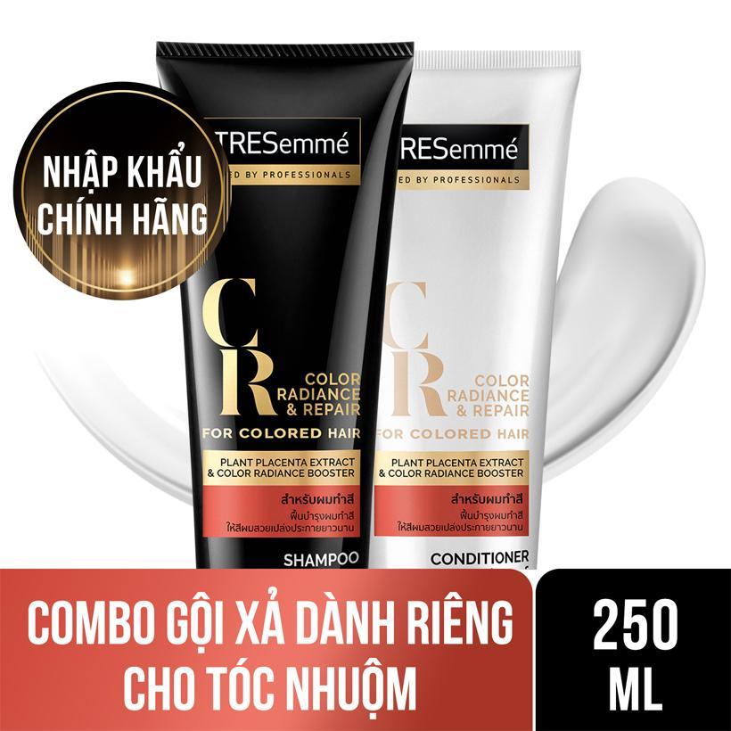Combo dành cho tóc nhuộm Dầu gội Tresemme 250ml và Kem xả Tresemme 250ml Nhật Bản