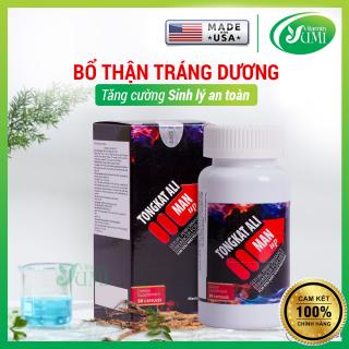 Viên Uống Bổ Thận Tráng Dương, Tăng Cường Sinh Lý An Toàn Cho Nam - Tongkat Ali Man Up - Nature Gift USA-Yumi Vitamin (30 viên) thumbnail