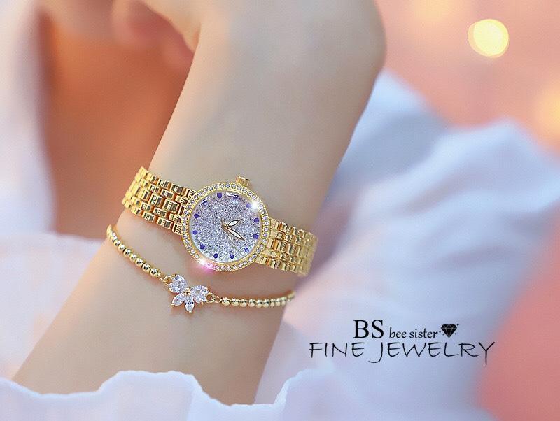 Đồng hồ nữ Bee Sister FA1598 đính đá full sang trọng
