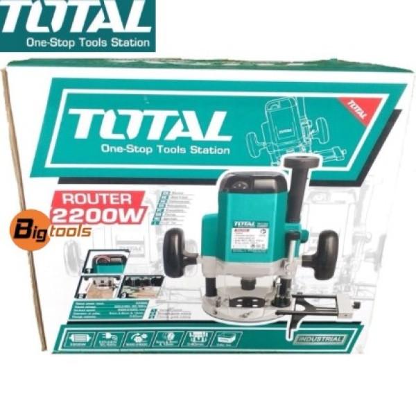 Máy Phay Gỗ 2200W - Total TR11122