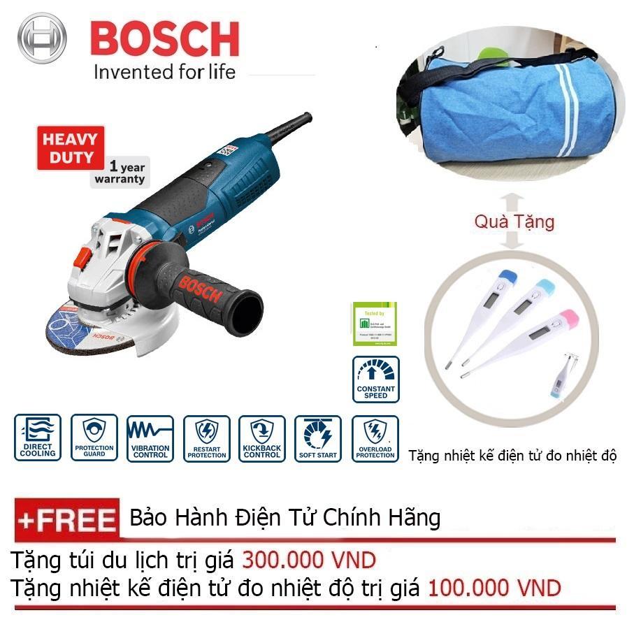 Máy mài góc Bosch GWS 13-125 CI (1300W) + Quà tặng nhiệt kế điện tử