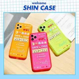 Ốp lưng iphone Pacman game neon iphone 6 6S 6Plus 6SPLus 7 7Plus X Xs Xr XSmax 11 11Pro 11Promax - ShinCase - d04 thumbnail