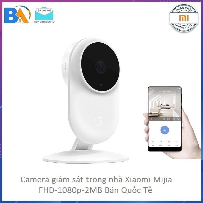 Camera giám sát Xiaomi Mijia 1080p - 2.0 ,Góc rộng 130 độ - Hàng phân phối DGW - Bảo Hành 12 Tháng