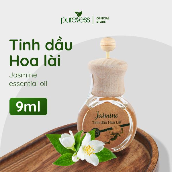 Khuếch tán tinh dầu Purevess 9ml giúp giảm stress, giảm đau đầu, khử mùi ô tô, chống say xe.