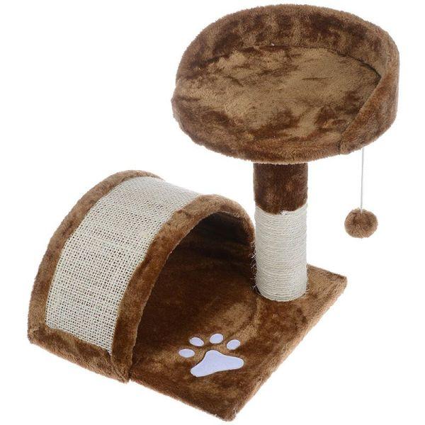 trụ cào móng ghế + vòm chui dành cho mèo - Cat Tree
