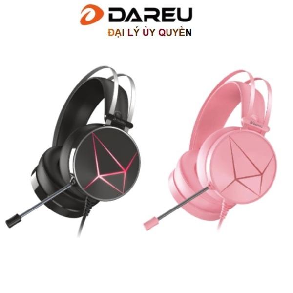 Bảng giá Tai nghe gaming Dareu EH722s Pink /Black giả lập 7.1 ( kết nối USB ) Phong Vũ