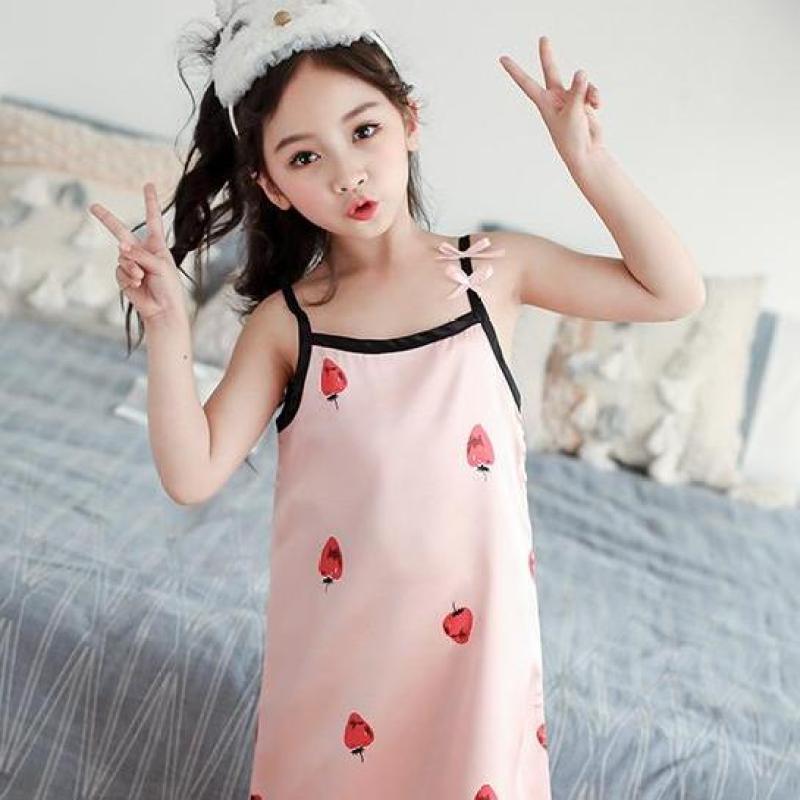 Nơi bán Váy ngủ bé gái kiểu Hàn siêu dễ thương - size 01 đến 10 tuổi