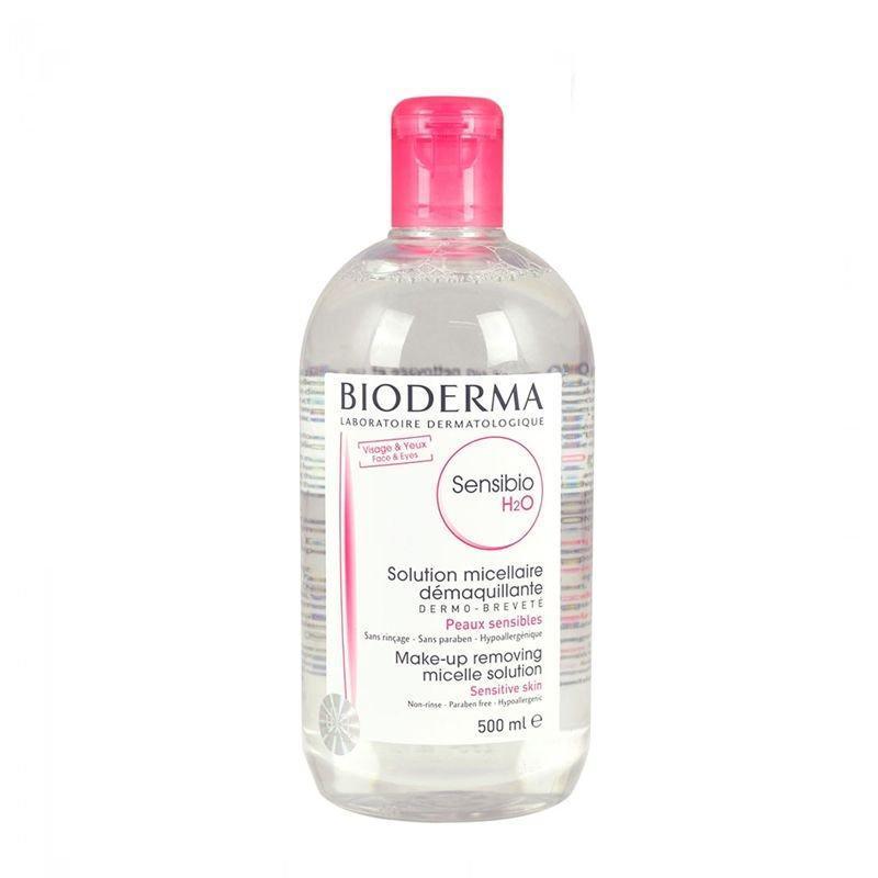 Nước tẩy trang Bioderma Crealine H2O 500 ml cao cấp