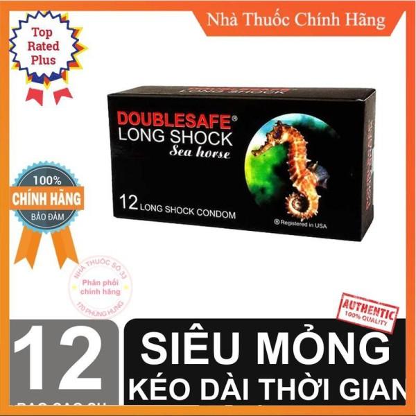 [GIÁ SỈ] Bao cao su Cá ngựa Long shock bộ 12 bcs