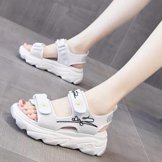 (Video 2 màu) Sandal nữ,sandal hoa cúc 2 quai chữ kí kiểu dáng trẻ trung 4