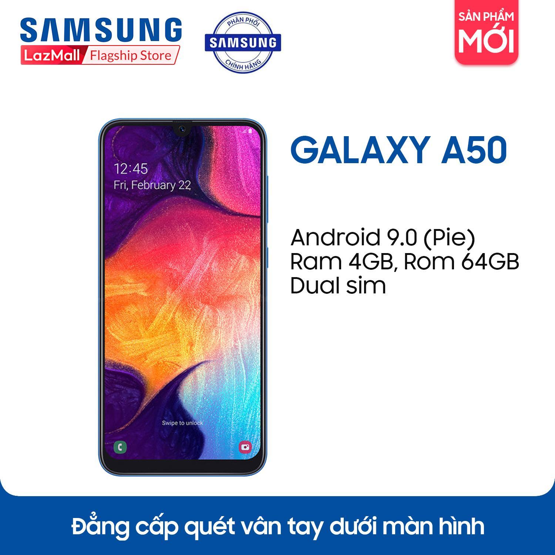 Điện thoại Samsung Galaxy A50 64GB/4G - Hãng phân phối chính thức