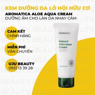Kem dưỡng ẩm chiết xuất Lô Hội hữu cơ Aromatica Natural Aloe Aqua Cream 150g thumbnail