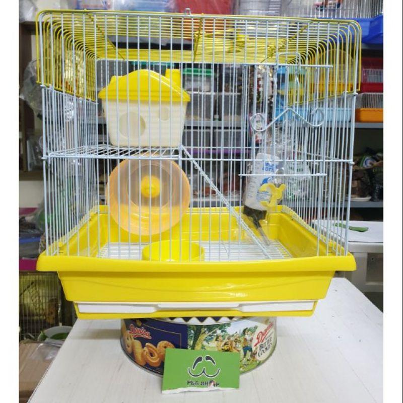 Lồng 1 tầng nuôi Sóc & Hamster