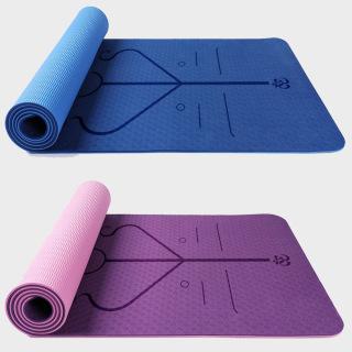 Thảm Tập Yoga Định Tuyến Amalife Màu Ngẫu Nhiên - Tặng Bao Thảm Tập Yoga Định Tuyến và Dây Buộc thumbnail
