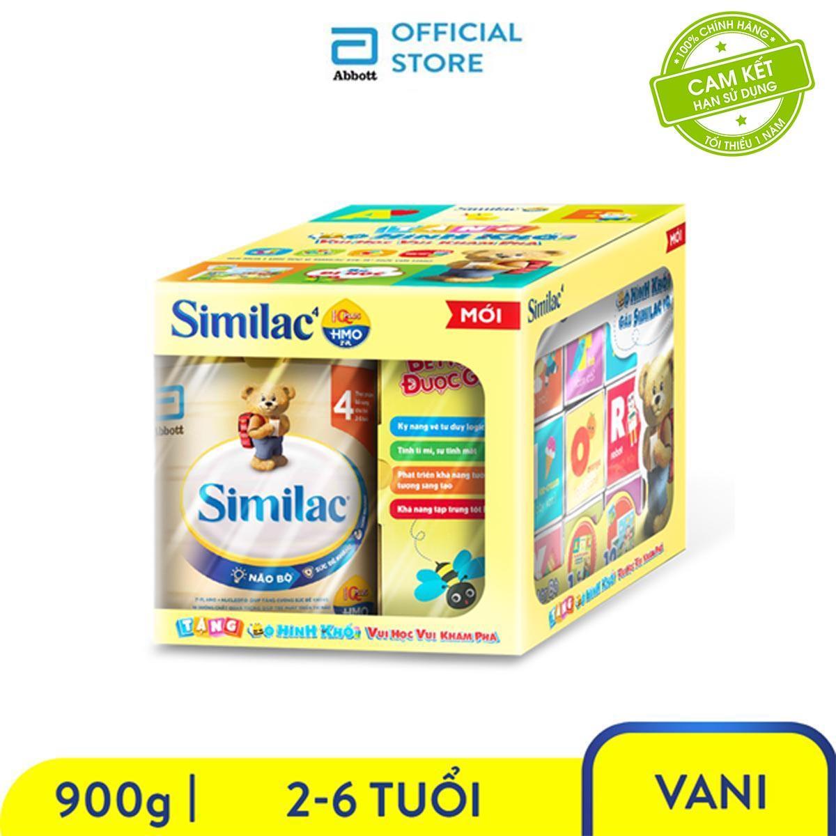 Sữa Bột Similac 4 900g Tặng Bộ Dạy Chữ ABC Cho Bé Trị Giá 120.000đ Giá Quá Ưu Đãi